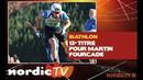 Biathlon Fourcade et Braisaz champions de France de sprint