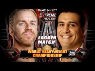 WWE Extreme Rules 2011 - Christian Vs Alberto Del Rio (World Heavyweight Championship) Full Match HD