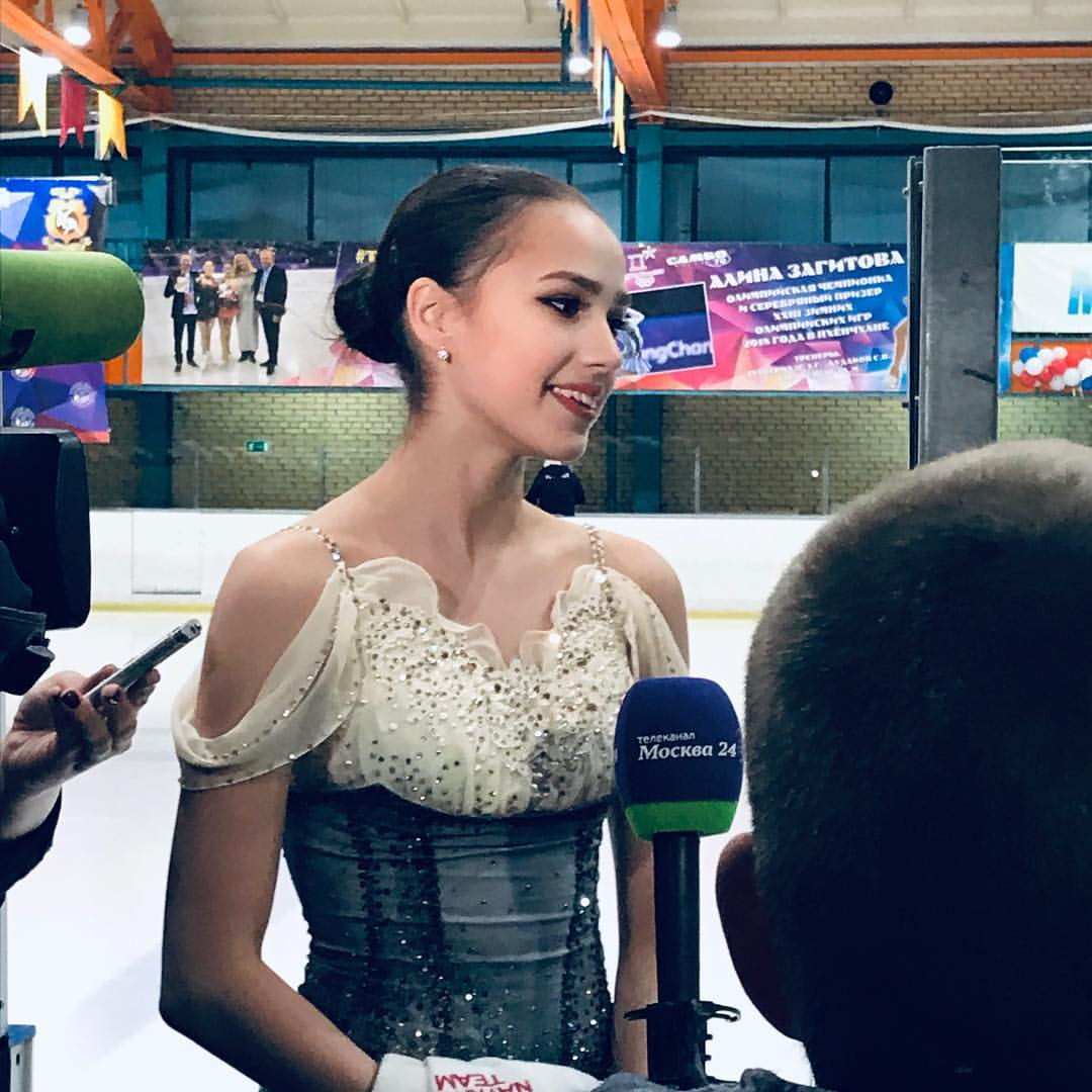 Алина Ильназовна Загитова-2 | Олимпийская чемпионка - Страница 6 Dar4bR01r6M