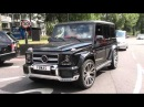 Dodge challender SRT8 Loud acceleration and Brabus G65
