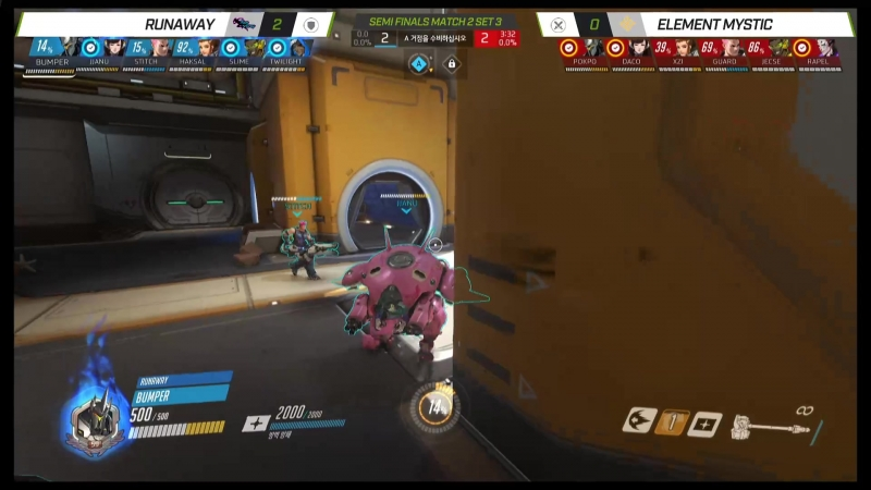 Bumper gets a flank shatter and stops a push entirely