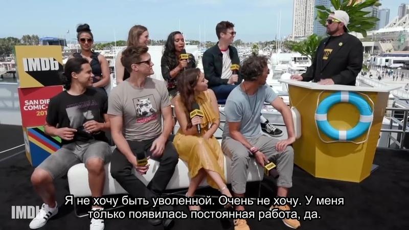 Каст Флэша говорит о 5 сезоне в интервью Кевина Смита [русские субтитры]