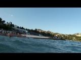 Гурзуф, море качает, 24.08.18