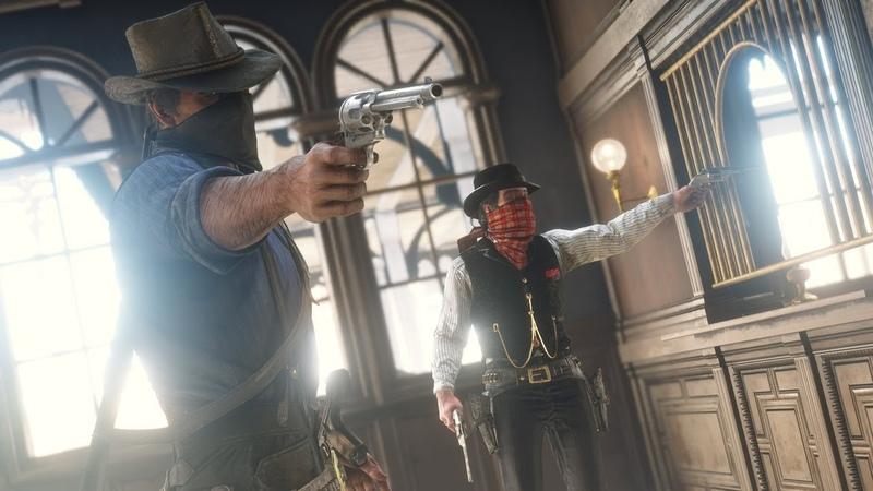 Red Dead Redemption 2 Ограбление банка