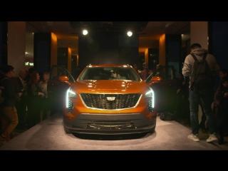 Cadillac показал маленький кроссовер XT4