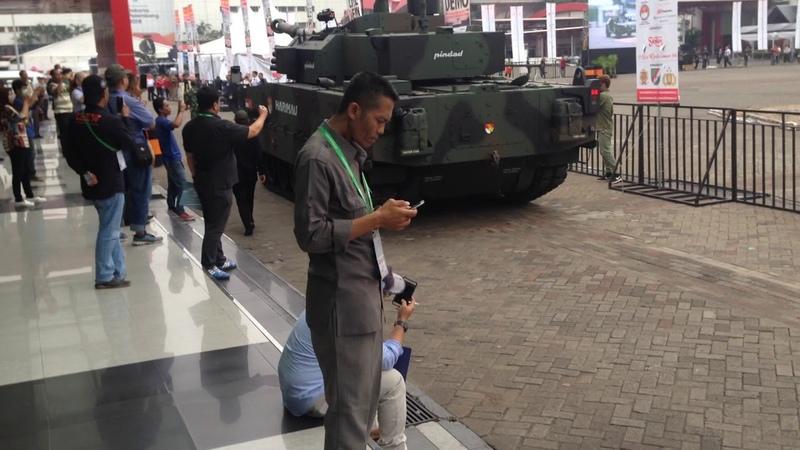 Демонстрация танка Harimau - 2