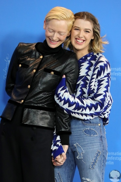 Тильда Суинтон представила фильм вместе с дочерью Хонор