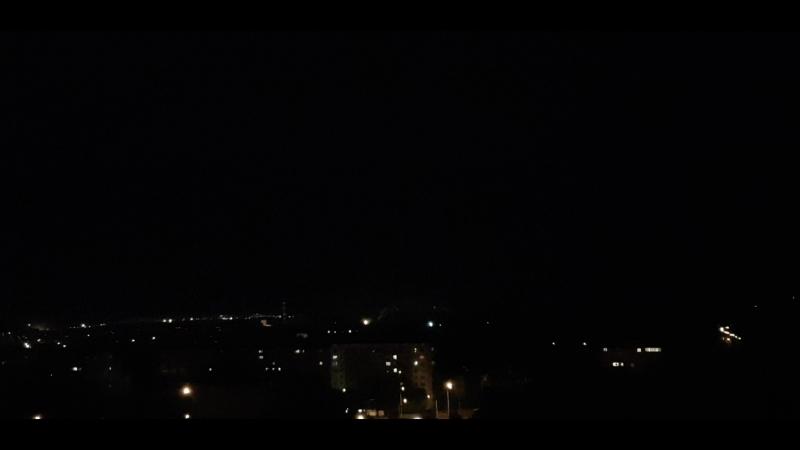 Грозовое светошоу над Томском