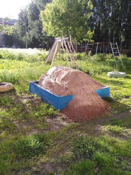 Суровая песочница на Полиграфе.))))))