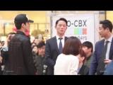 [FANCAM] 180422 EXO-CBX Goyang Fansign @ CBX with famous fan