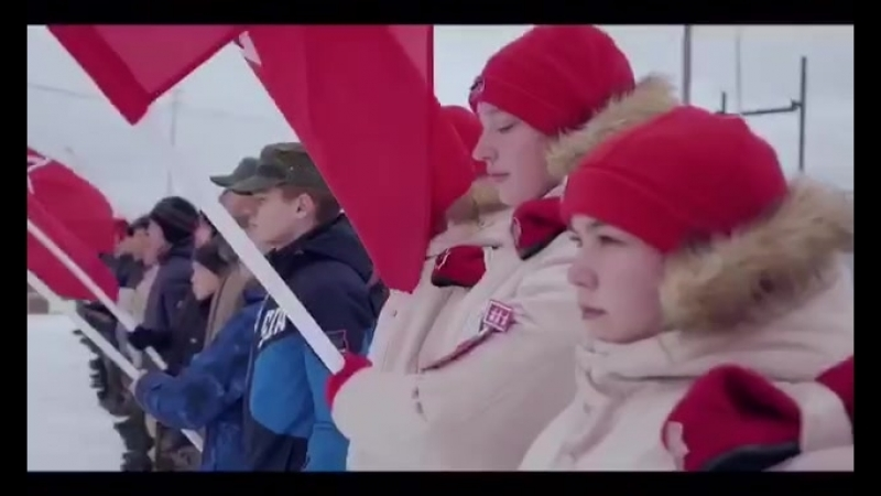 V патриотический Слёт «ЮНАРМИИ» в Якутске