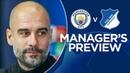 Pep Guardiola previews Man City v Hoffenheim   PRESS CONFERENCE