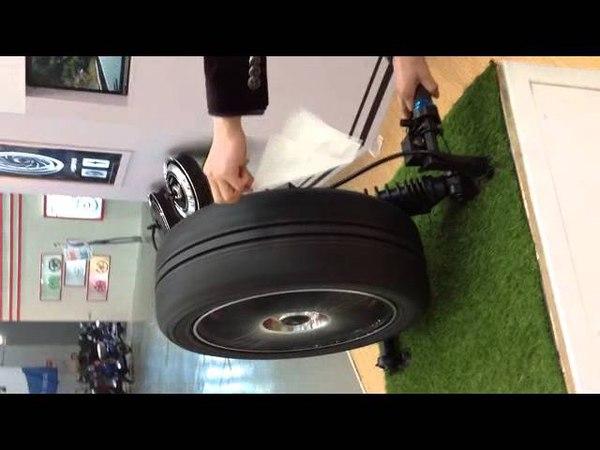 QS Motor BLDC Electric Car In-Wheel Hub Motor
