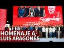 Los detalles del bonito homenaje a Luis Aragonés por la Euro 2008 Diario AS