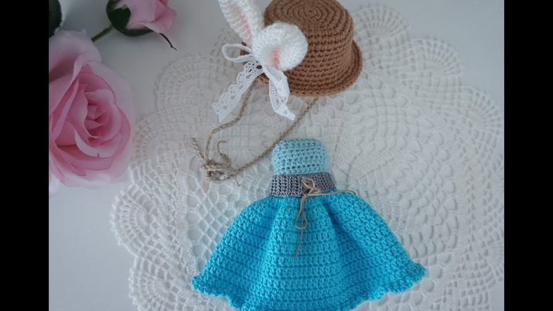 How to crochet doll clothes doll outfit