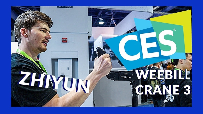 CES 2019 A Look At The Zhiyun WEEBILL LAB and CRANE 3 Gimbals