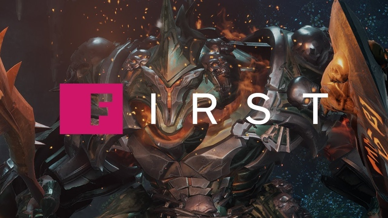 Darksiders 3 See the Wrath Boss Fight - IGN First