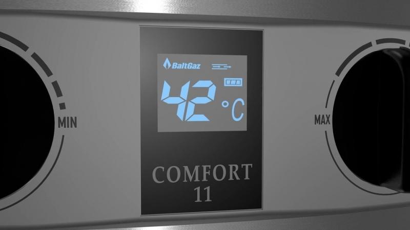 Водонагреватели проточные газовые - газовые колонки BaltGaz Comfort