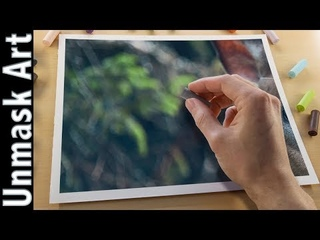How to Create Blurry Background with Soft Pastels | Live Tutorial