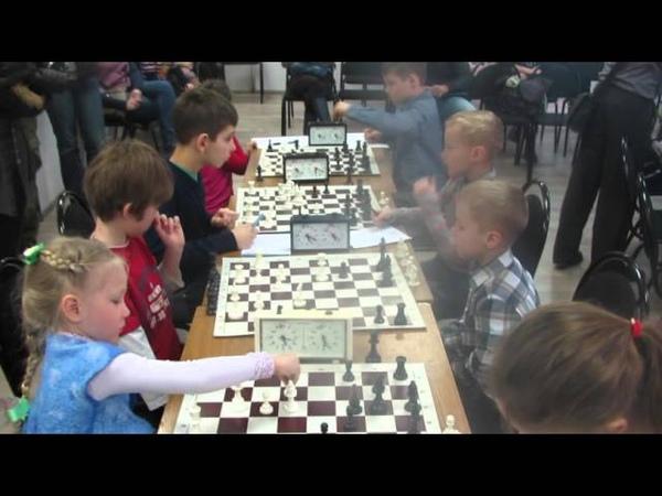 Это их первый шахматный турнир