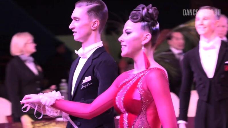 Kirill Vlasov - Kristina Polunina RUS, Slow Foxtrot, Latin Kvartal Cup 2019