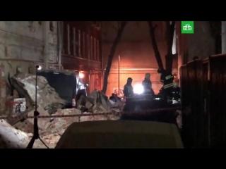 Обрушение здания на Трубной