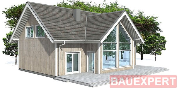 Фото: Проекты домов 6х8 с пристройкой