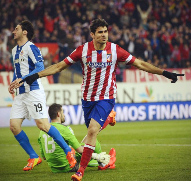 Нелегкая победа Атлетико Мадрид