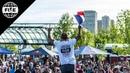 Alex Jumelin Winning Run - UCI BMX Flatland World Cup Final | FISE Edmonton 2018