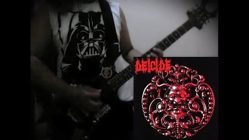 Oblivious to Evil - Rhythm Guitars Track Cover(DEICIDE)