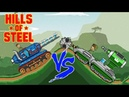 Hills of steel hack Mammoth tank vs Tesla tank Games bii