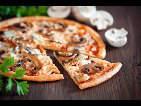 Пицца с грибами рецепт приготовления пиццы