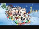 Клик Клак Му Рождество на ферме 2017 присутствует реклама