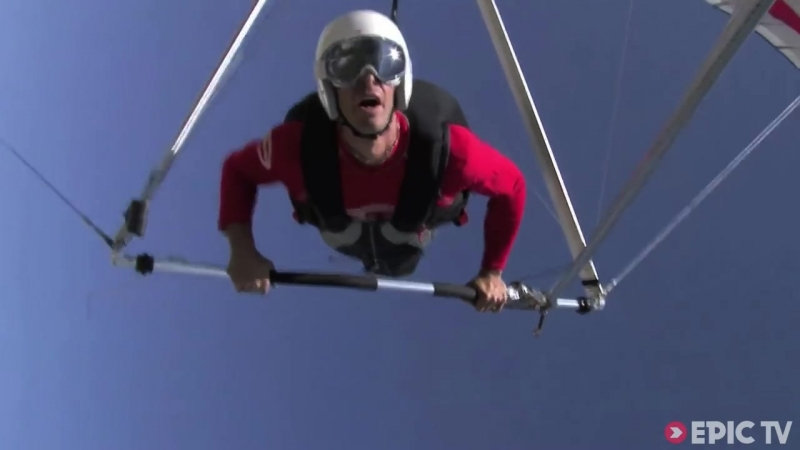 Freestyle Hang Gliding 150km_hr Water Touch _ Extreme Diaries with Flo Orley, Ep