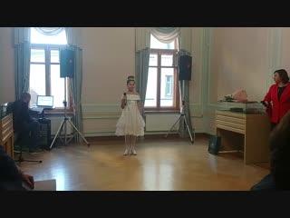 Золушка исп. Дарья Кобец