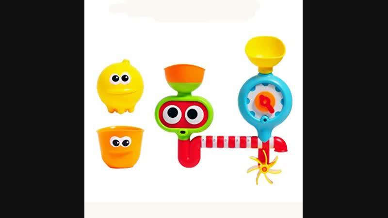Видео обзор игрушки: Набор для купания (5 предметов)