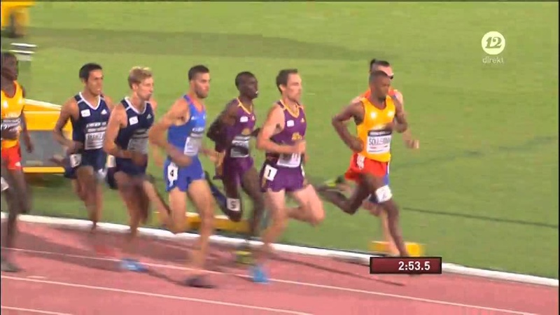 Men's 1500m IAAF Continental Cup Marrakech 2014