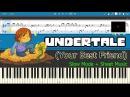 Your Best Friend - Undertale [Slow Sheet Music] (Piano Tutorial)