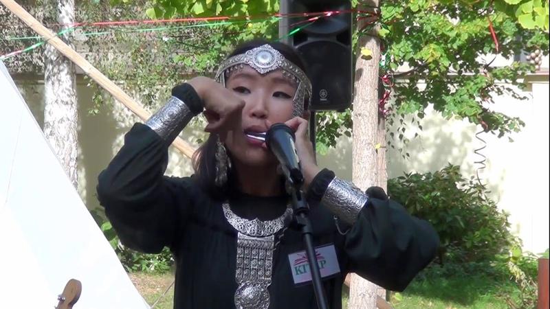 Aldana Duoraan Národ Sakha na Festivalu Turkické Kultury v Praze 6.10.2018 (KITAP)