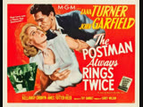 The Postman Always Rings Twice (1946) Lana Turner, John Garfield, Cecil Kellaway