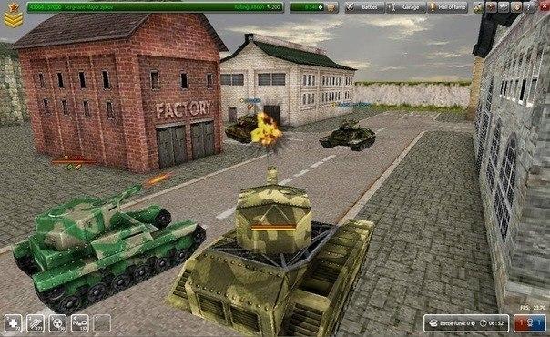Игры танки 3д онлайн бесплатно.