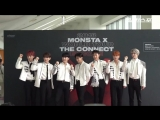 VK180825 MONSTA X - Press Conference THE 2ND WORLD TOUR 'The Connect' Encore in Seoul @