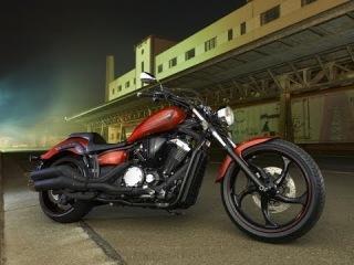 #203. Yamaha XVS1300CU Motorcycle (МОТО БЛОГ 2014)