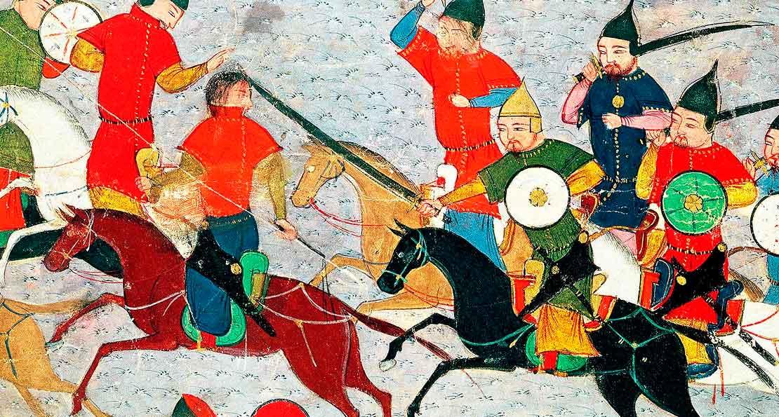 Монголы и персы