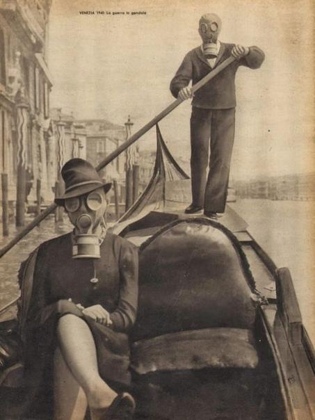 Фотография 1940 года. Венеция.