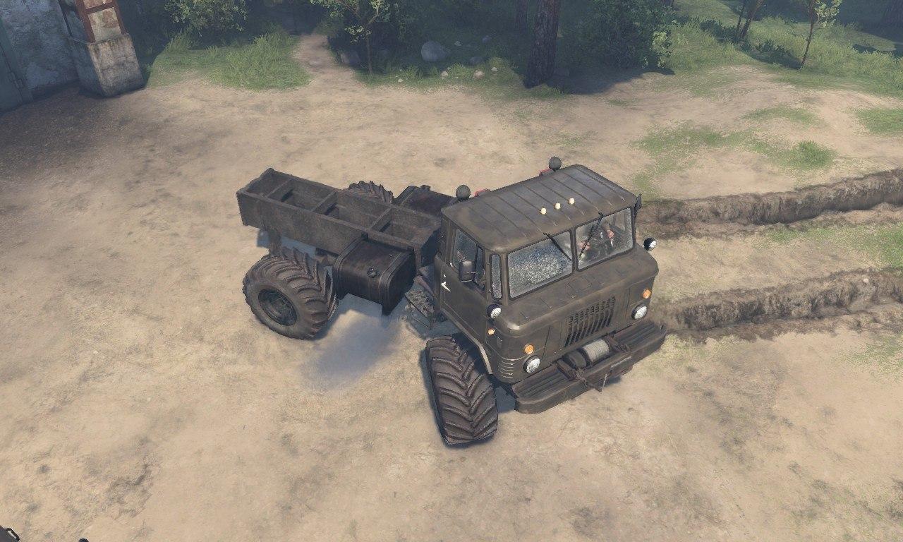 """ГАЗ-66 """"М"""" для 23.10.2015 и 08.11.2015 для Spintires - Скриншот 1"""