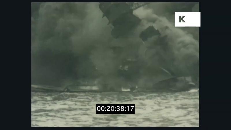 Japanese Bombing of Pearl Harbour, World War II, 1941