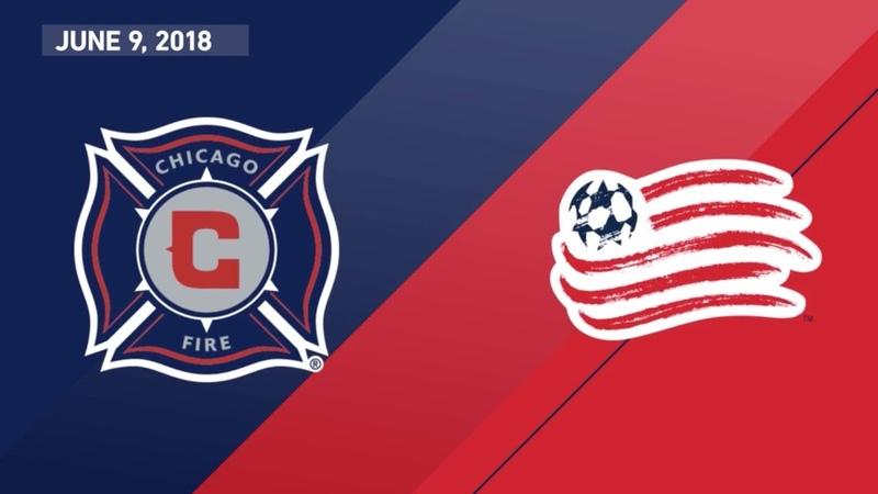 HIGHLIGHTS: Chicago Fire vs. New England Revolution | June 9, 2018