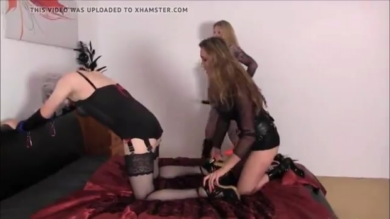 CD sissy and 2 mistresse