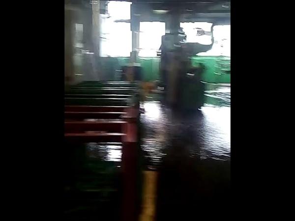 Потоп в прессовом производстве АВТОВАЗа 20.07.2018